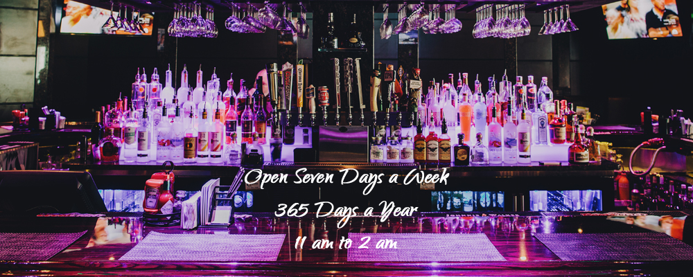 The Office Pub & Grill is Open Seven Days a Week, 365 Days a Year, 11 am to 2 am.